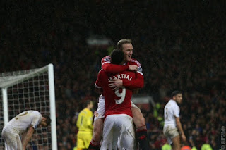 Manchester United vs Swansea City 2-1