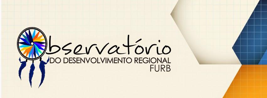 Clique aqui e conheça nosso Observatório do Desenvolvimento Regional