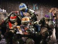 Ninja Turtles film - These turtles are from an alien race and they are going to be tough, edgy, funny and completely lovable. (dixit Michael Bay)