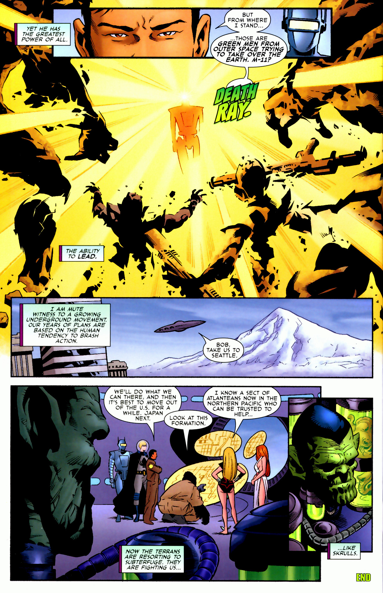 Read online Secret Invasion: Who Do You Trust? comic -  Issue # Full - 44