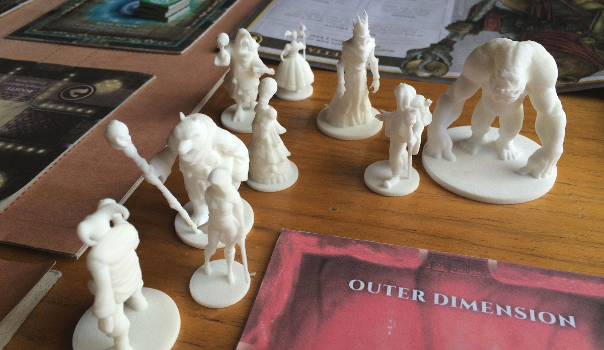 Wizard's Academy Miniatures