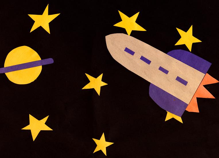 space shuttle craft ideas - photo #6