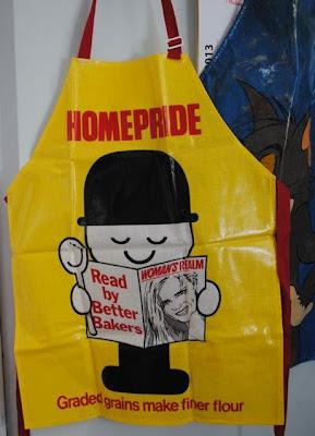 Vintage Homepride apron