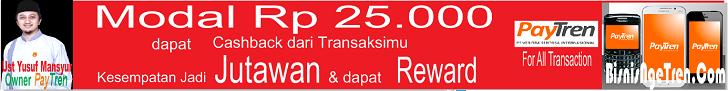BisnisNgeTren.Com ya Paytren milik Ust. Yusuf Mansur Veritra Sentosa Internasional Treni KLIKVSI VSI