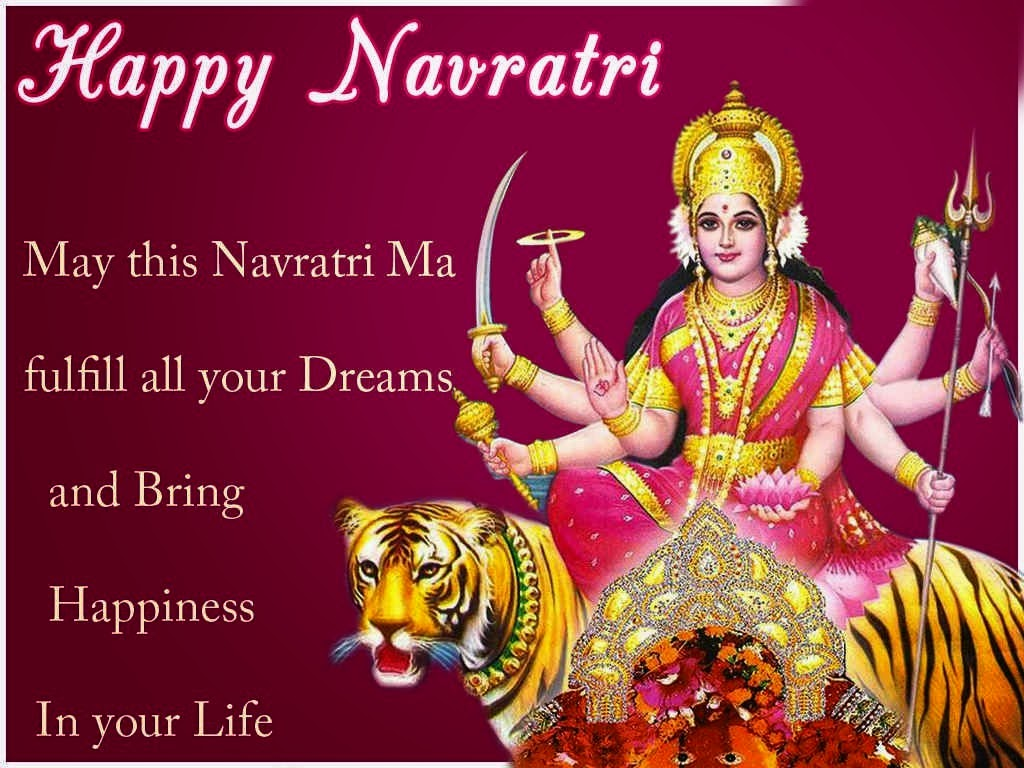Happy Navratri HD Wallpapers Free Download