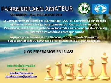 San Andrés Islas (Colombia) Panamericano de Ajedrez Amateur 2014 (Dar clic a la imagen)