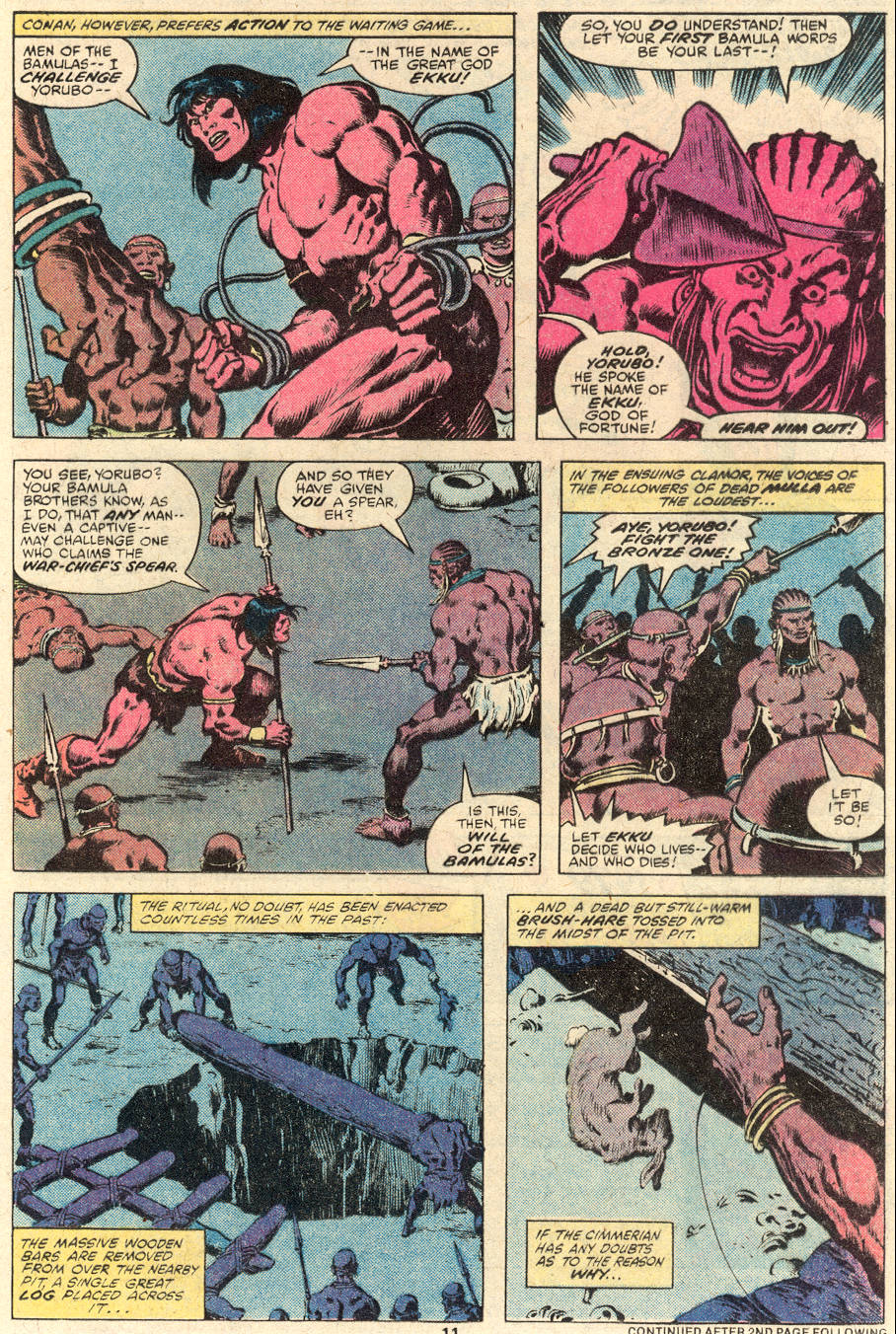 Conan the Barbarian (1970) Issue #101 #113 - English 9