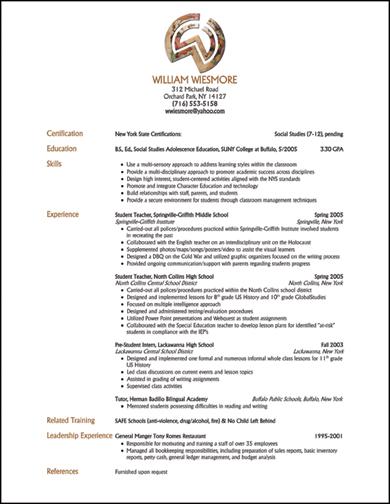 Portage resume