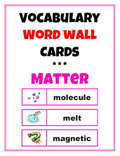 https://www.teacherspayteachers.com/Product/Word-Wall-Vocabulary-Cards-Matter-2016240