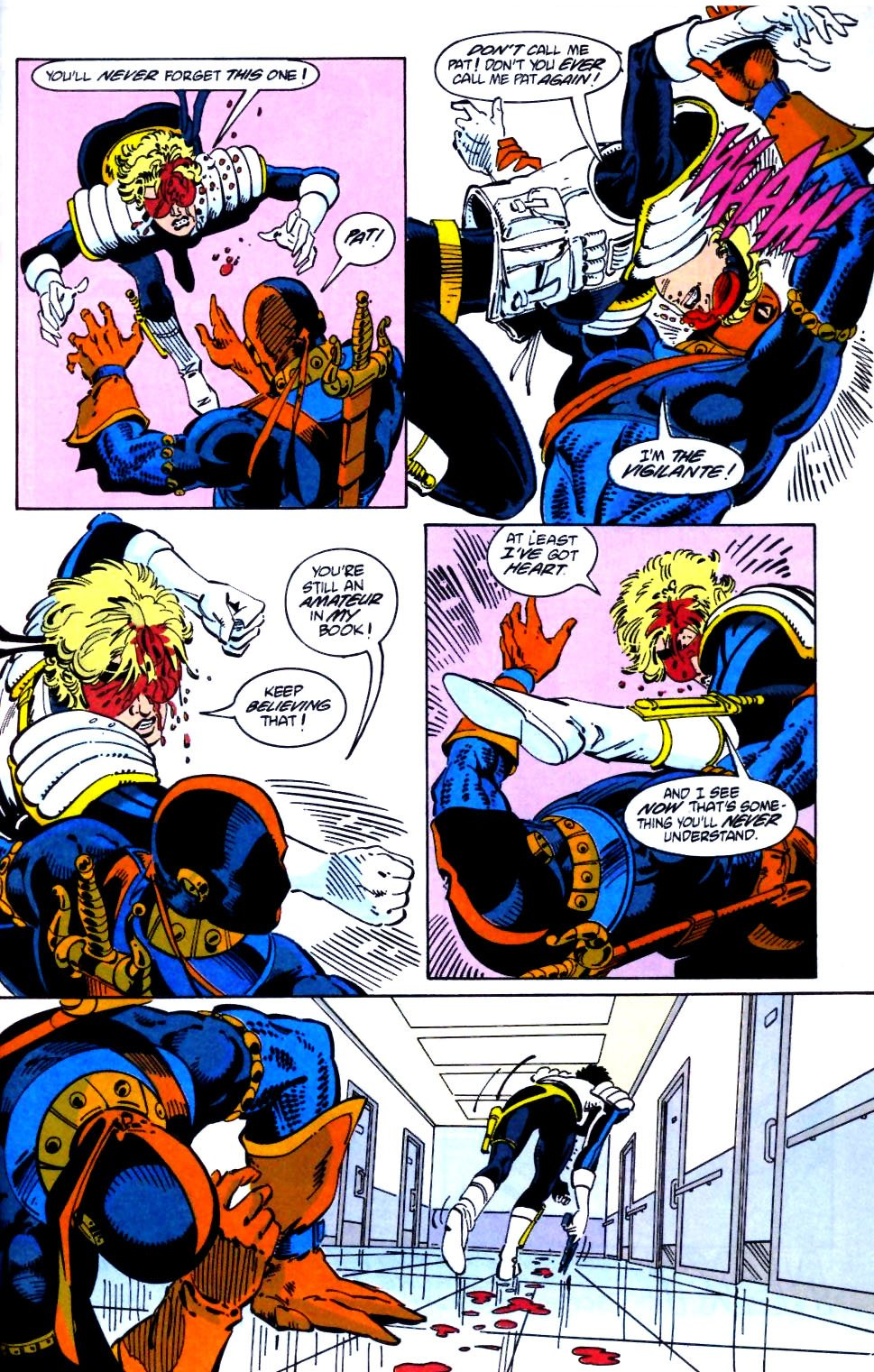 Deathstroke (1991) Issue #21 #26 - English 24
