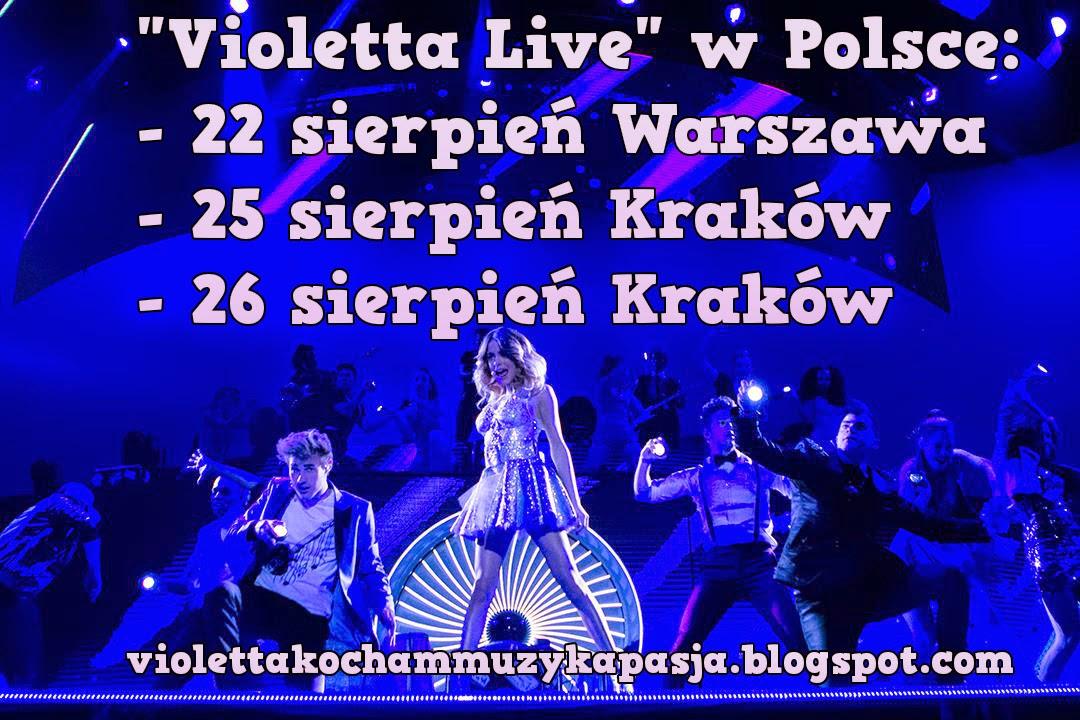 Violetta Live w Polsce!