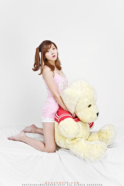 Jung Se On on The Bed