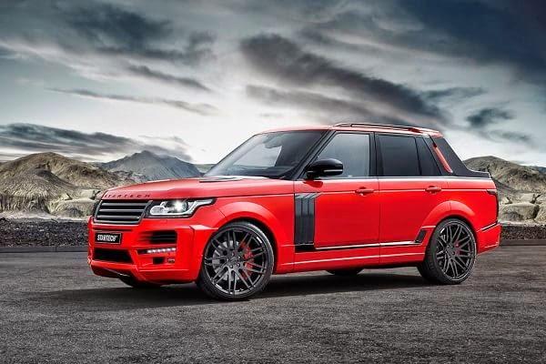 Startech creó un Range Rover pick up