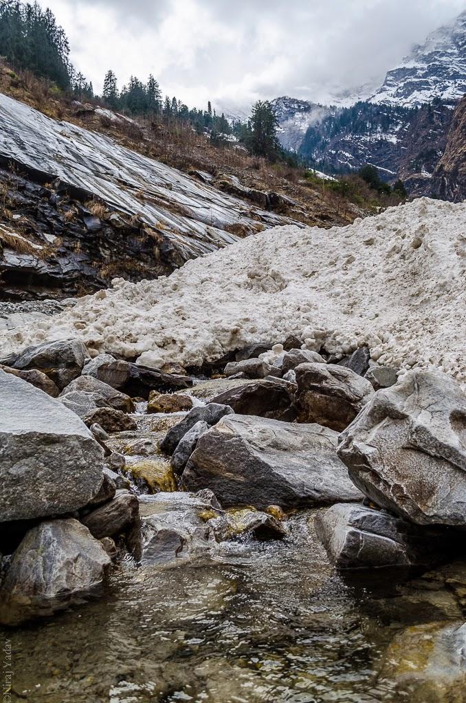 uttarakhand glacier, budgetyatri, winter in uttarakhand