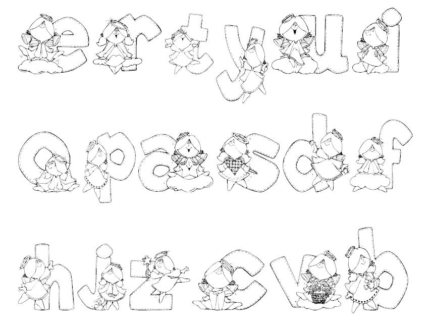 Escuela infantil castillo de blanca fuentes divertidas 8 - Fuente letra infantil ...