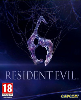 Resident Evil 6 Cover