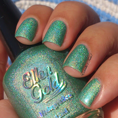 esmalte verde