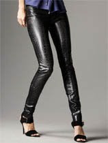 Faux-Leather Pants
