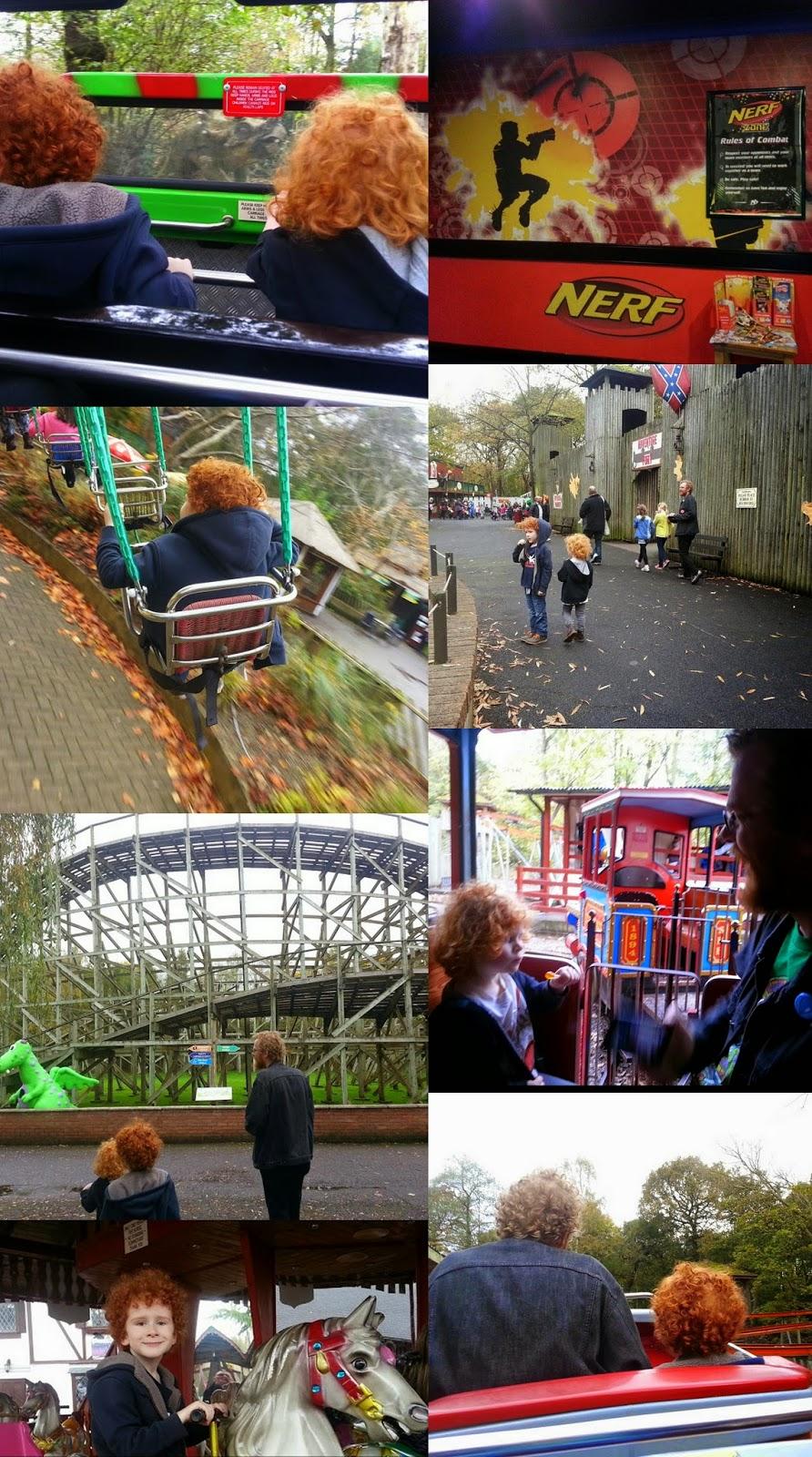 Gulliver's World Children's theme park rides swings nerf zone