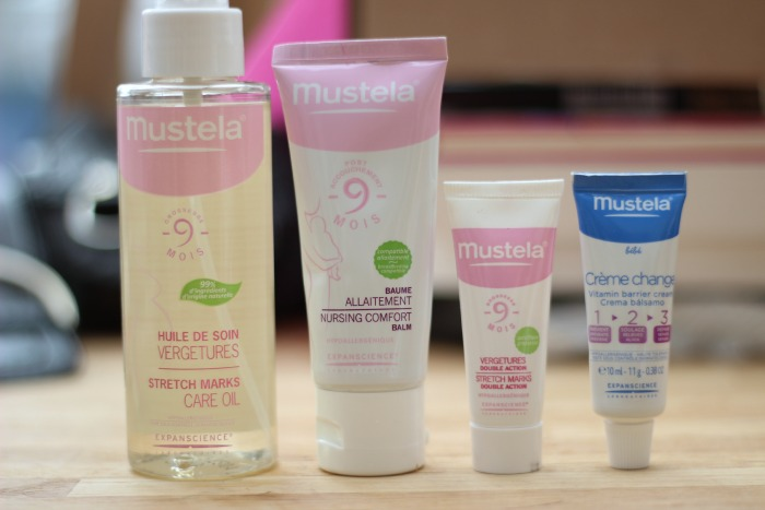 Mustela stretch mark care oil