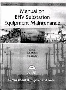 CBIP SUBSTATION MANUAL