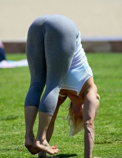 sexy yoga poses older women