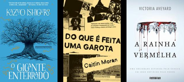 Lançamento de Livros - Junho / Editoras Companhia das Letras, Seguinte e Paralela