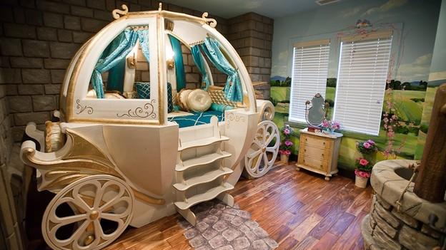 Mooie Kinder Slaapkamers : Interieur huis bed: slaapkamer voor de kleintjes.