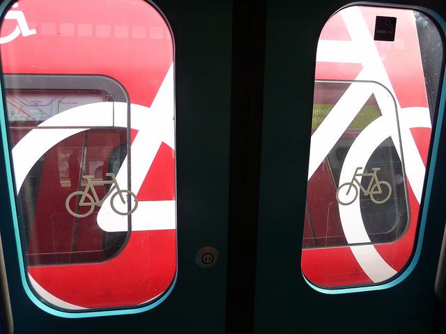 Metrô de Copenhagen permite levar bicicletas no vagão