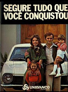 propaganda Unibanco - 1975. 1975. propaganda década de 70. Oswaldo Hernandez. anos 70. Reclame anos 70