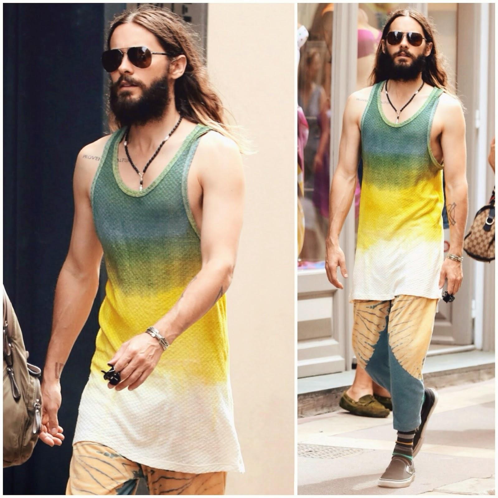 แฟชั่นไอคอน Jared Leto จาเรด เรโต้ Jared Leto Style Fashion