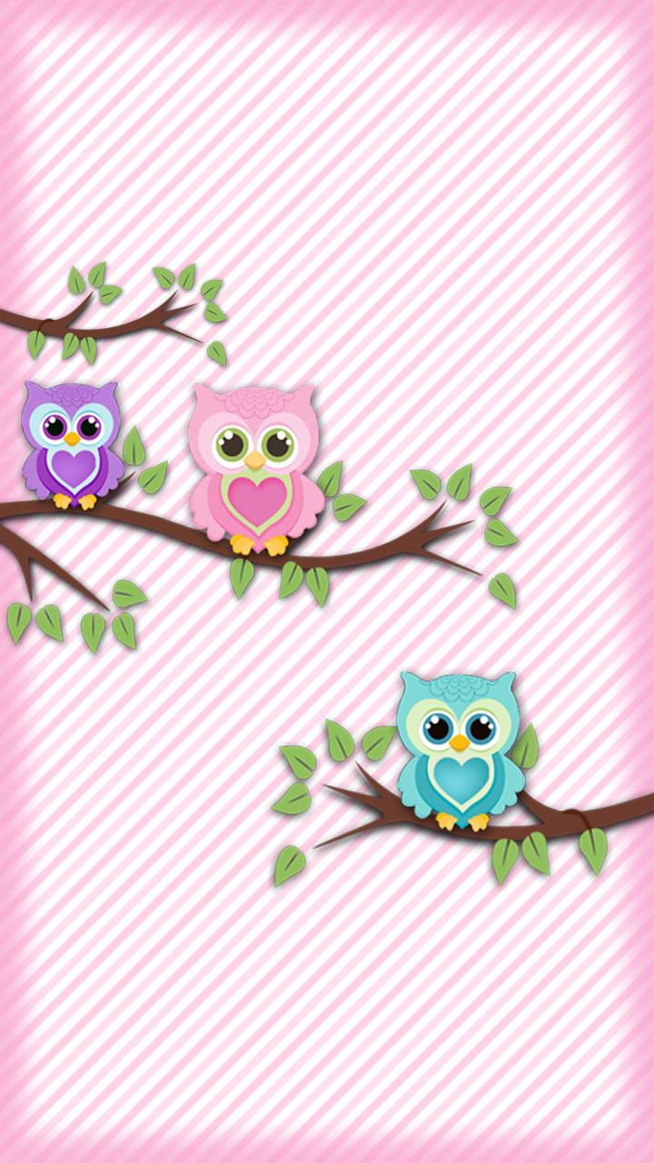 Cute pink owl wallpaper visit chile cute pink owl wallpaper voltagebd Image collections