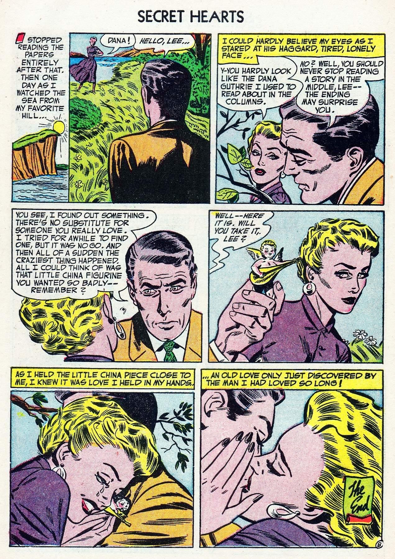 Read online Secret Hearts comic -  Issue #16 - 10