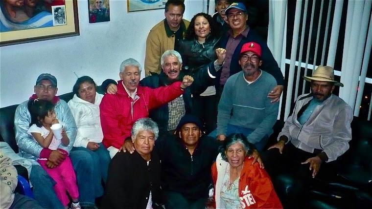 SALVADORENSES Y SALVADOREÑOS, TERTULIA DE ALZADOS EN LA CONDESA