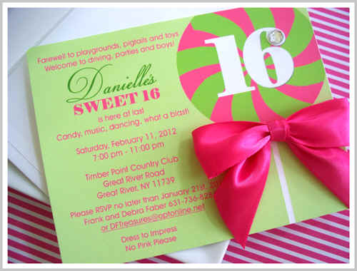 Online Candy Store A Sugary Sweet Sixteen Celebration With Sweet