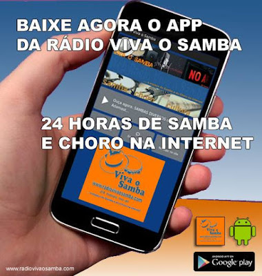 Baixe o novo aplicativo para Android da Rádio Viva o Samba