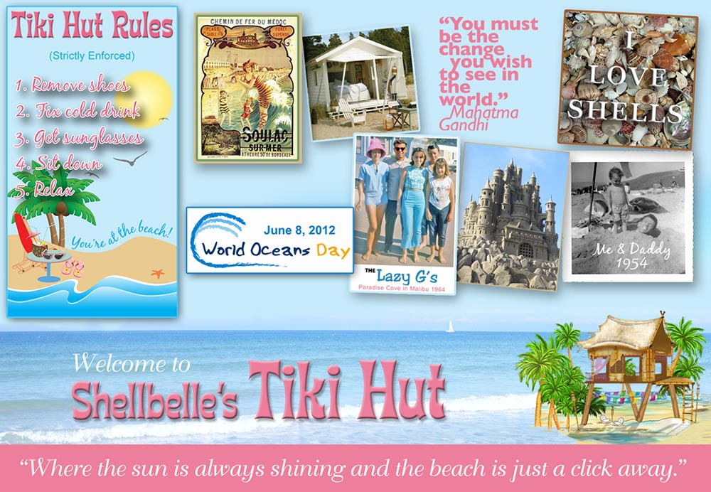 Shellbelle's Tiki Hut