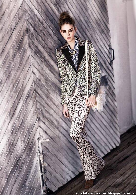 Moda otoño invierno 2014 Uma colección otoño invierno trajes de mujer, sacos sastre, blazers, abrigos.