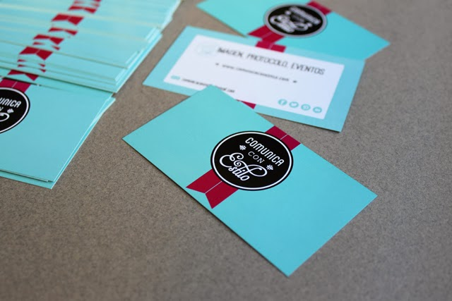 imagen corporativa tarjetas de visita hermanas bolena