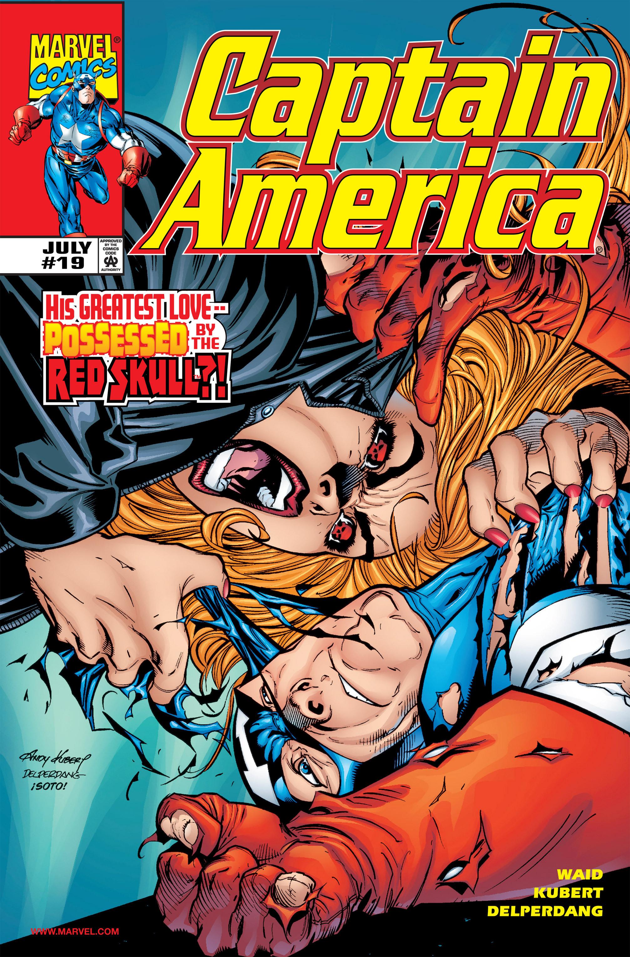 Captain America (1998) Issue #19 #25 - English 1
