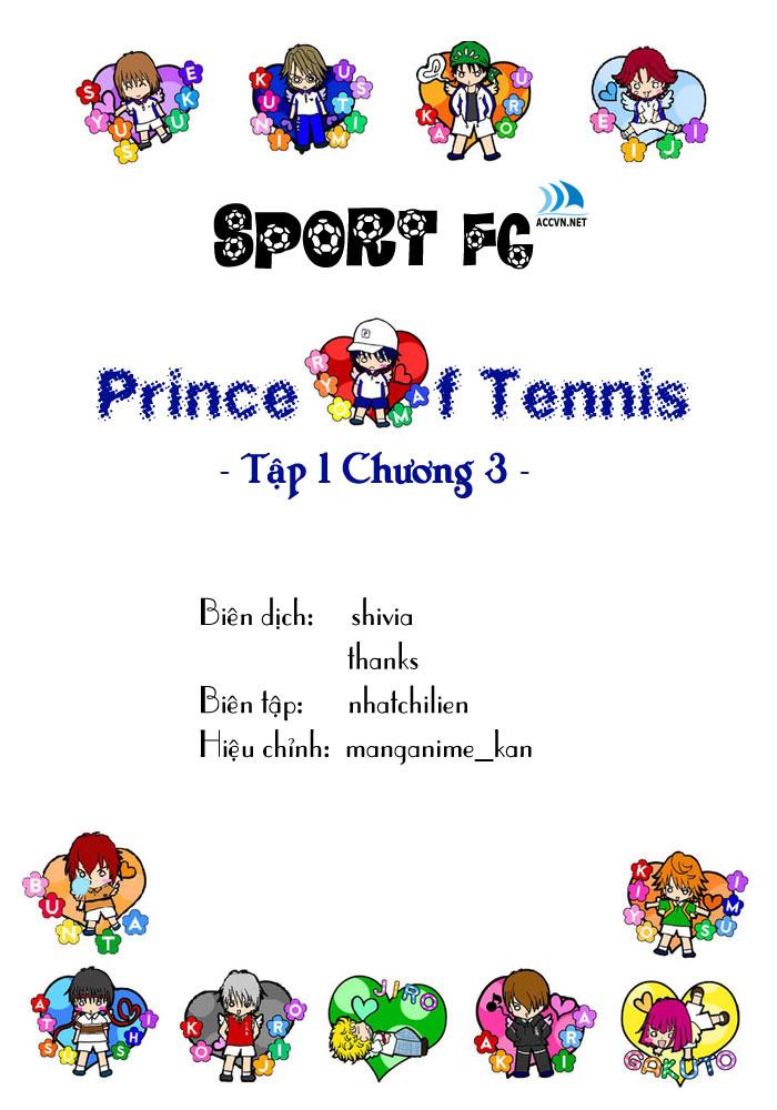 Prince of Tennis chap 3 Trang 1
