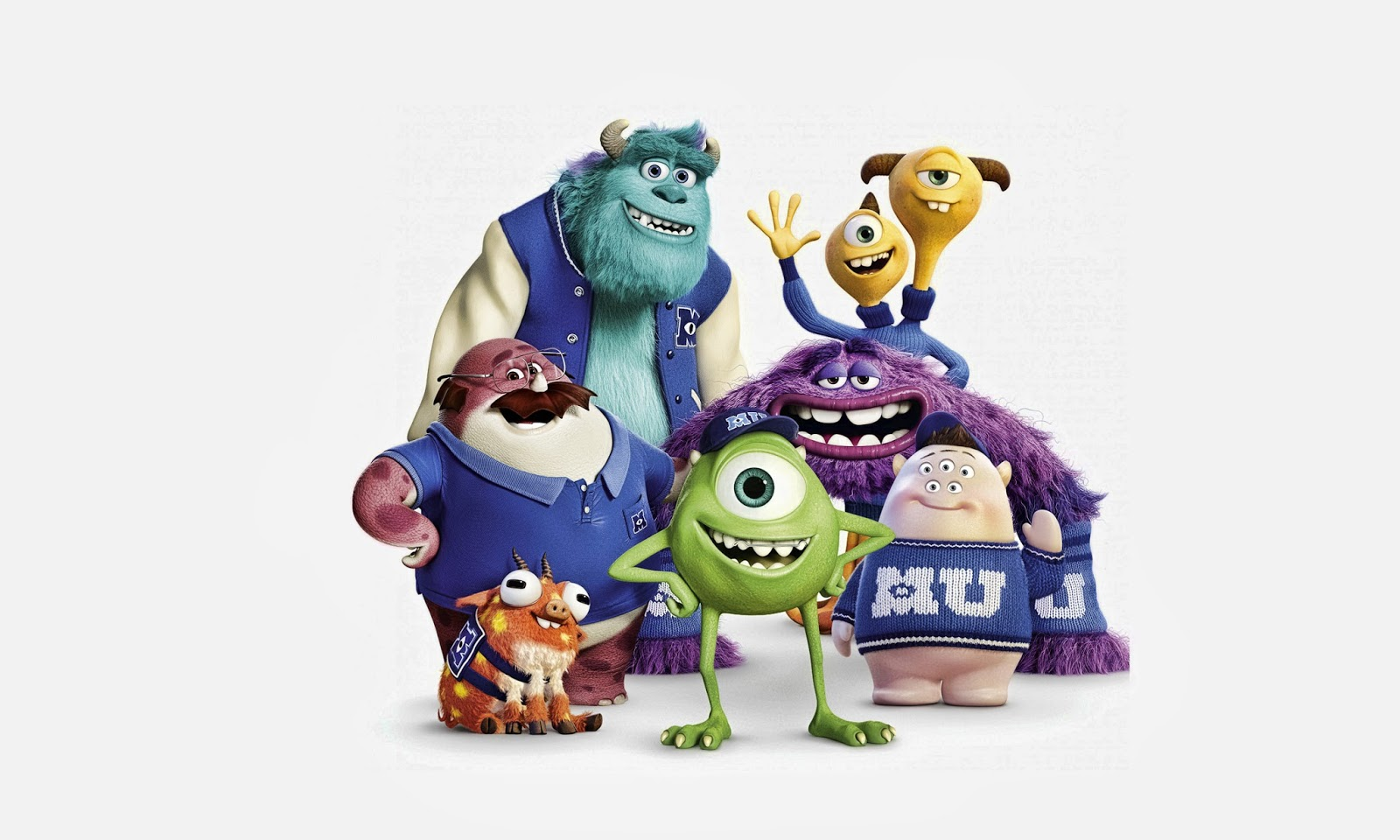Walt movies monster university hd wallpapers high definition walt movies monster university voltagebd Images