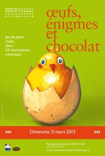 Œufs, énigmes et chocolat 2013