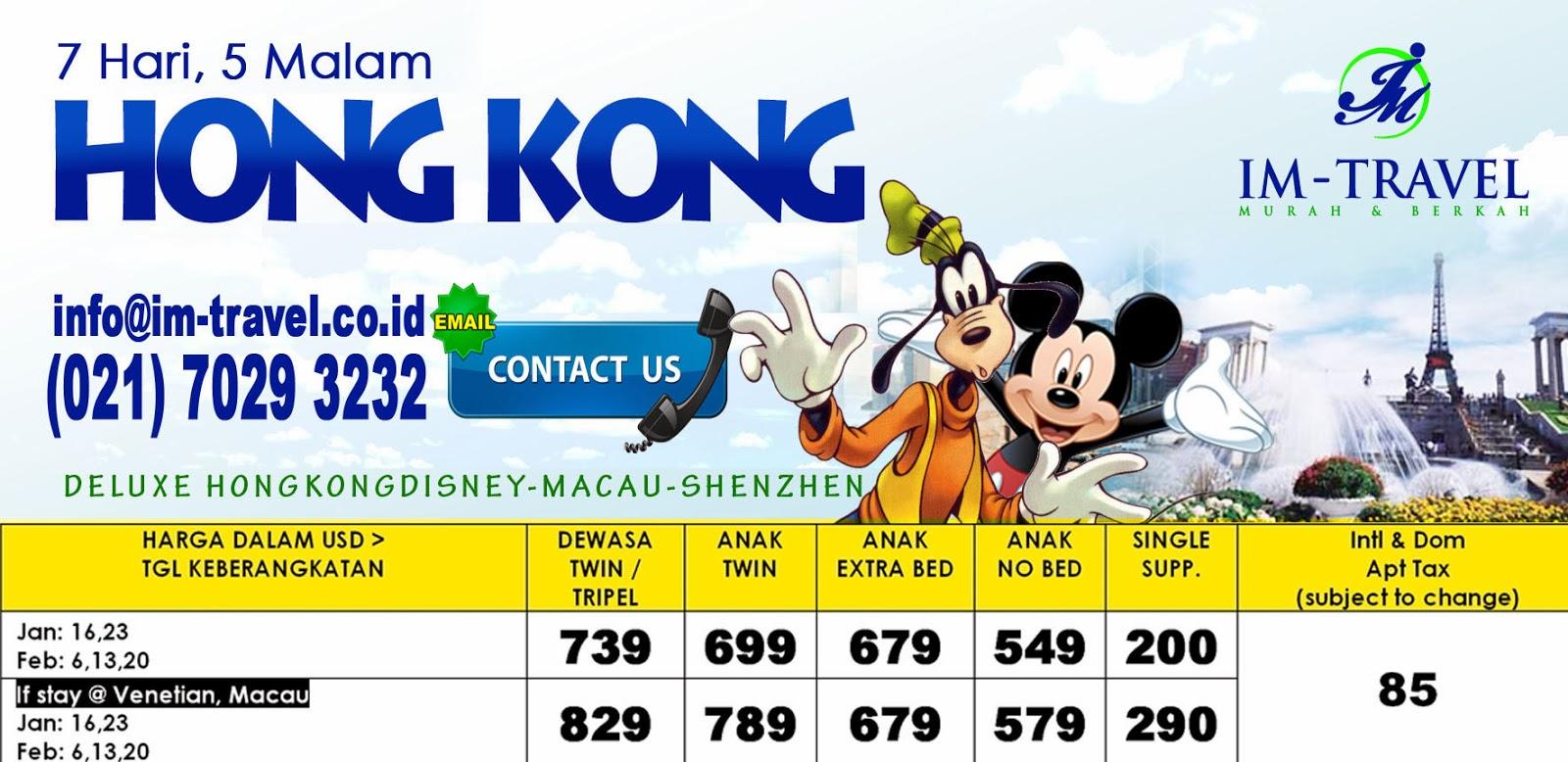 Paket Tour Wisata Thailand Korea Jeju Island Saigon Tiket Disneyland Hongkong Dewasa Ter Harga Disney Shenzhen Macau Oktober Hingga Desember 2014