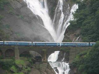 dudhasar water falls