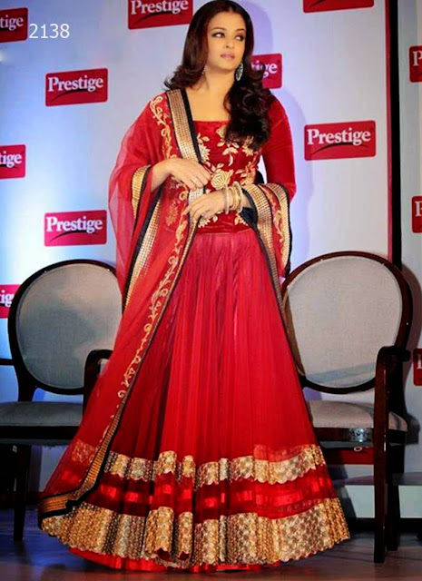 Bollywood designer Red Lehenga