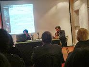 Recibiendo 1° Premio de Narrativa Asociación de Cultura Gallega Xeito Novo(2008)