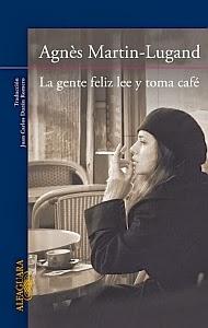La gente feliz lee y toma café - Portada