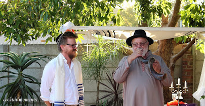 Abba Ray-blowing the shofar