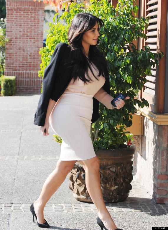 kim kardashian pregnant hot pic dungarees
